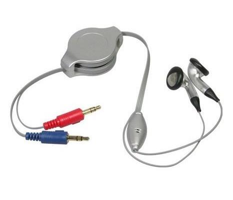 Retractable multimedia headset