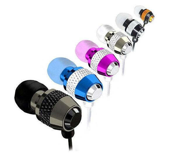colorful Metal Earphone