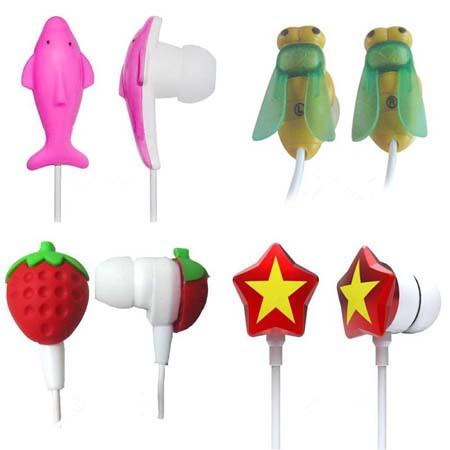 Cartoon earphones