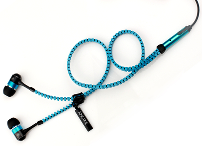 zipper headset