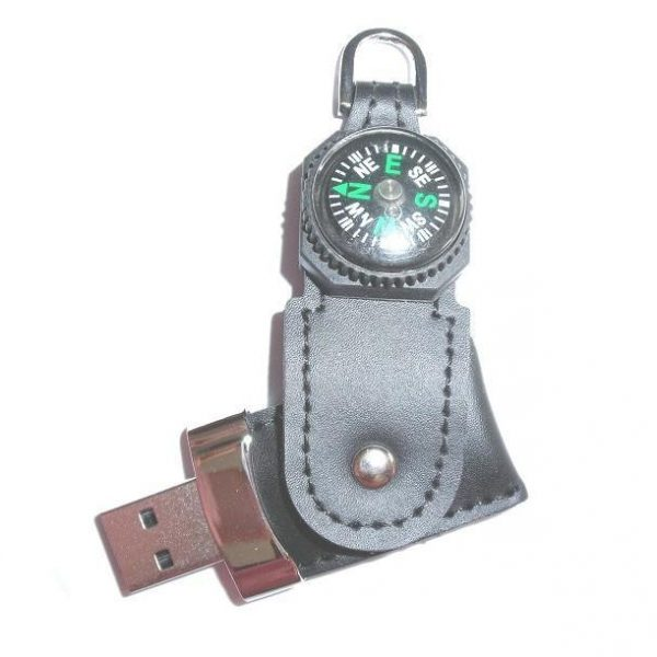 USB with compass