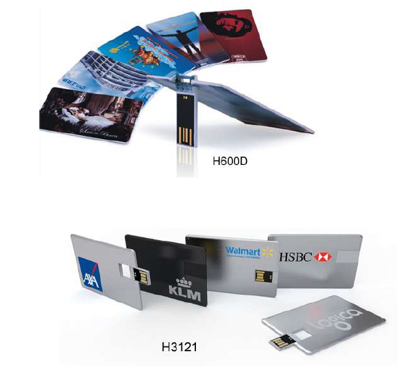 card shape USB flash drives