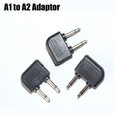 1 to 2 pin adaptor