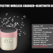wireless charger+bluetooth speaker